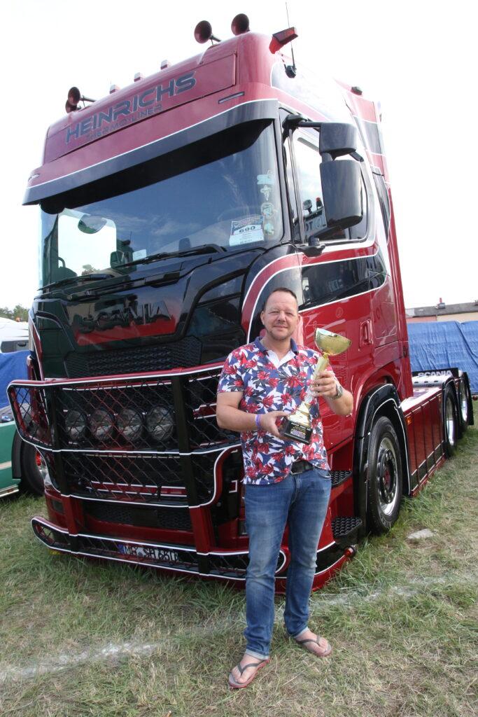 Heinrichs Master Truck show 2021 Krzysztof Świderski